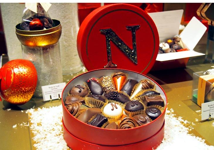 El chocolate belga es muy apreciado. Foto Marta Pintus.