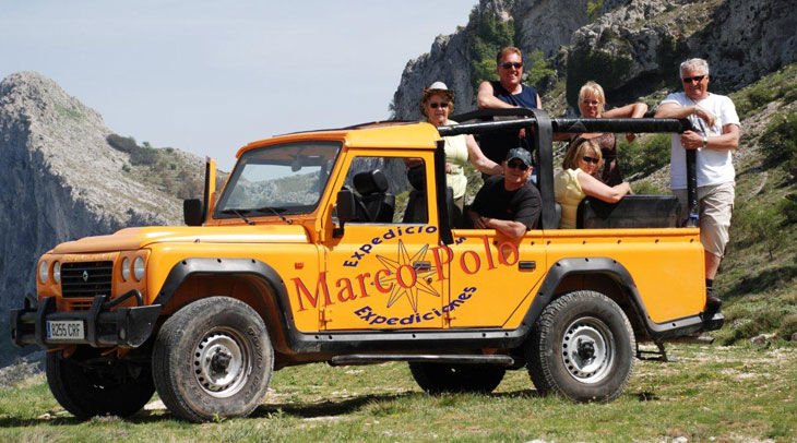 Excursiones en Jeep. Foto Expediciones Marco Polo