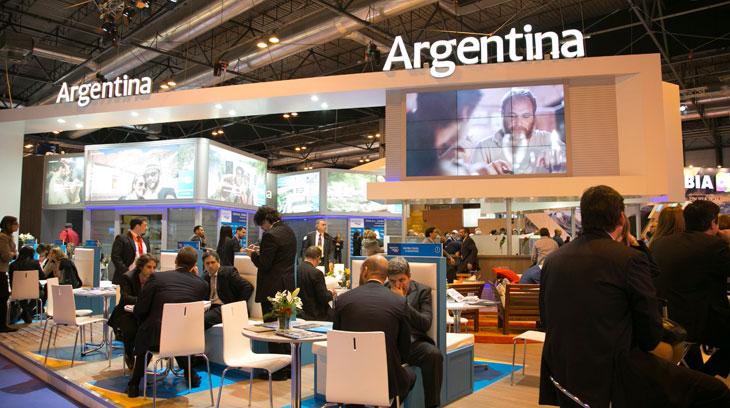 Stand de Argentina en Fitur 2016