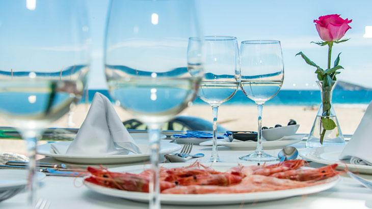 Los productos del mar no faltan en las mesas de los restaurantes benidormenses