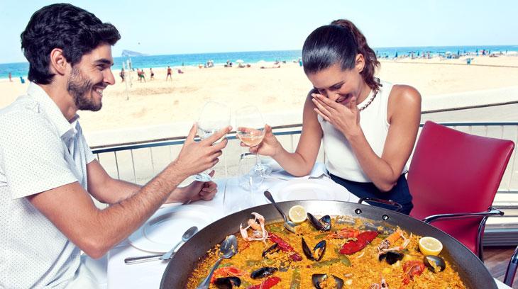 El arroz es uno de los ingredientes estrella de la gastronomía de Benidorm