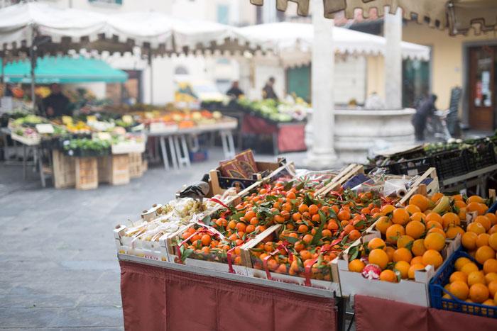 Mercado en La Sala
