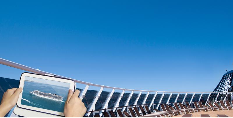 El programa MSC for Me permite al pasajero estar conectado con las experiencias que puede vivir en los barcos de MSC Cruceros.