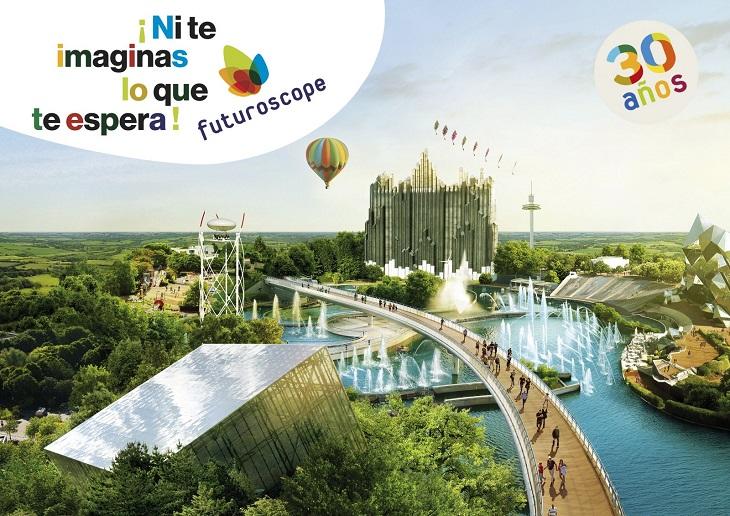 Futuroscope celebra su 30 aniversario