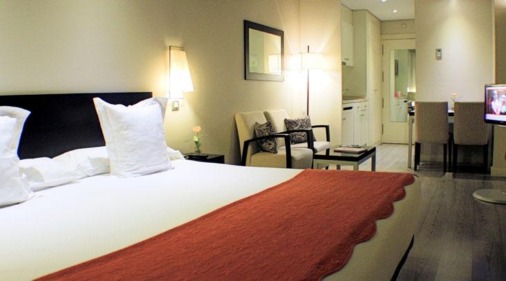 Habitación estándar Sercotel Suites Viena