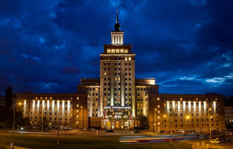 Hotel Internacional de Praga, emblema de la arquitectura comunista.