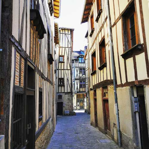 Calles de Limoges © Juan Coma