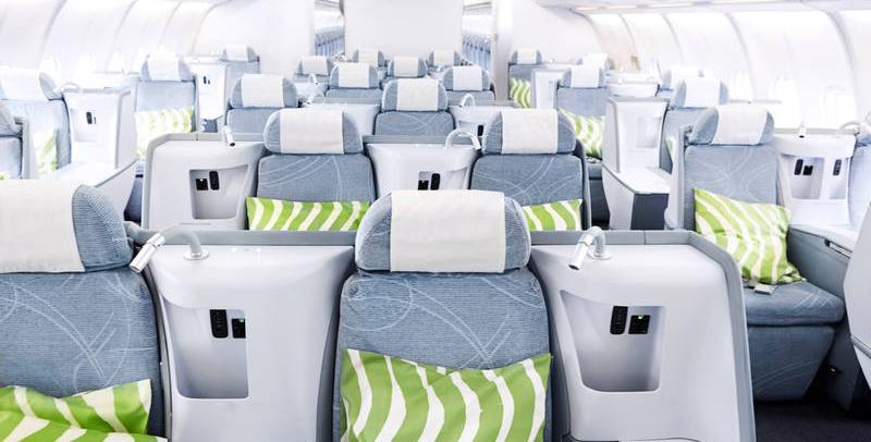 Finnair A330 clase business