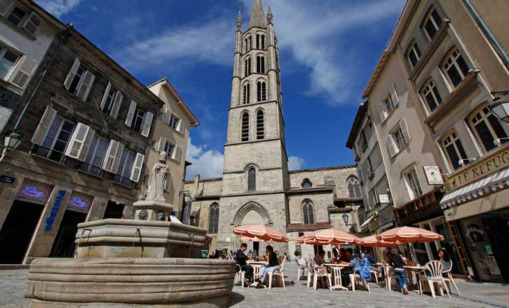 Plaza Saint Michel. Vincent Lagarde ©Ville de Limoges