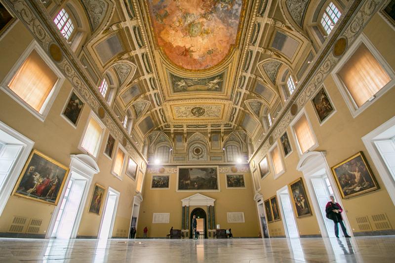 Salón de la Meridiana del Museo Arqueológico Nacional de Nápoles Museo Arqueológico Nacional de Nápoles © Javier Zori del Amo