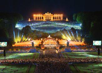 Concierto de una Noche de Verano de la Orquesta Filarmónica de Viena © Richard Schuster