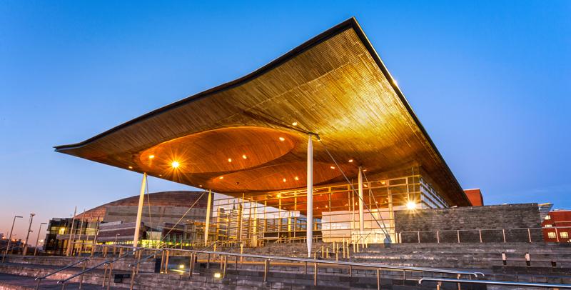 La Bahía de Cardiff cuenta con varios edificios de gran valor arquitectónico