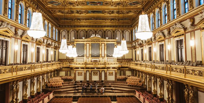 Salón Dorado del Musikverein de Viena © Österreich Werbung / Sebastian Stiphout