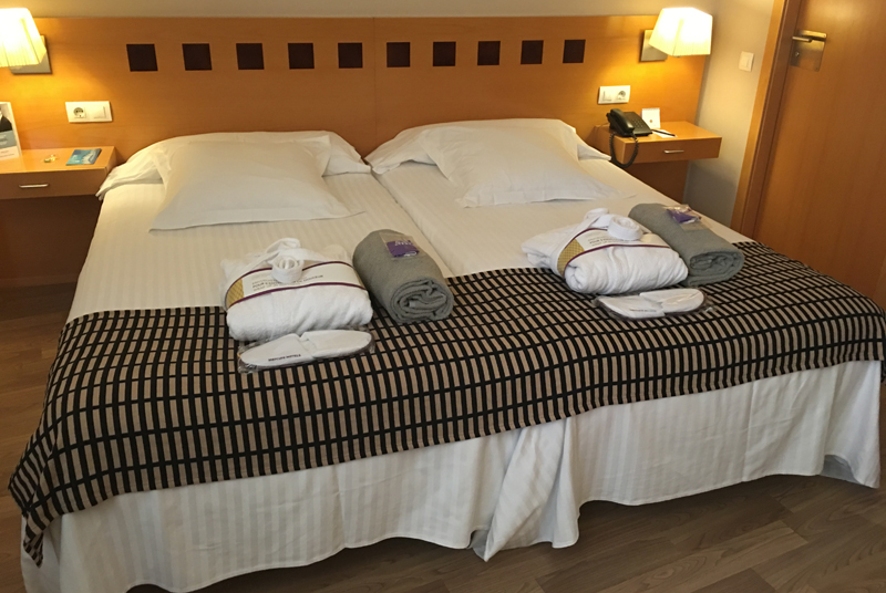 Habitación estándar del Hotel Mercure Atenea Aventura