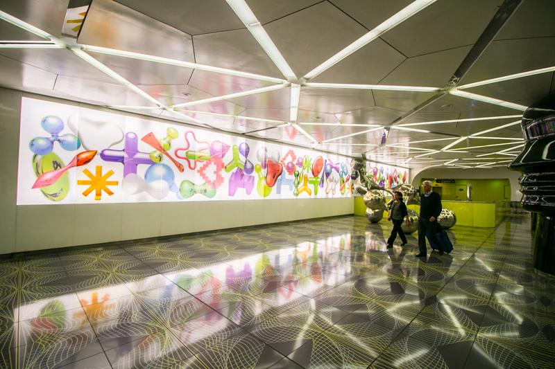 Estación de metro Università © Javier Zori del Amo