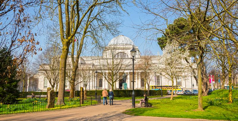 Cardiff es una capital con muchas zonas verdes
