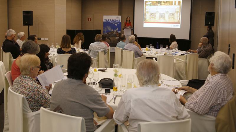 Un momento de la presentación de Barcelona del plan de promoción turística de Tarragona