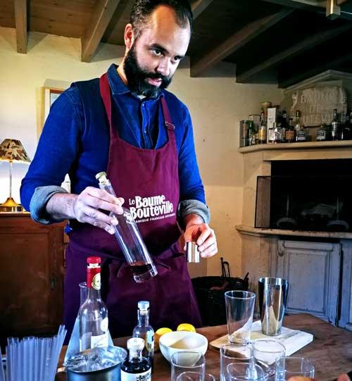 Con el balsámico de Baume de Bouteville se elaboran cócteles