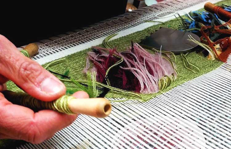 Los tapices de Aubusson es uno de los savoir-faire de la región de Nueva Aquitania