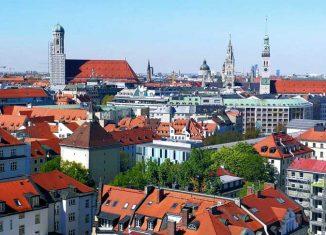 Panorámica de Múnich
