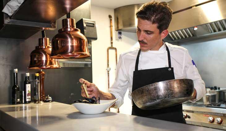 Albert Bocalandria, chef del Restaurante Nº30