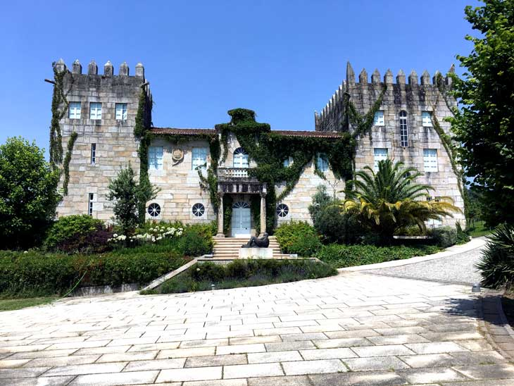 Pazo Baión, uno de los más emblemáticos de las Rías Baixas