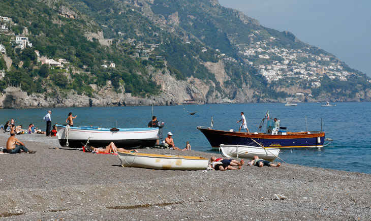 Playa de Positano