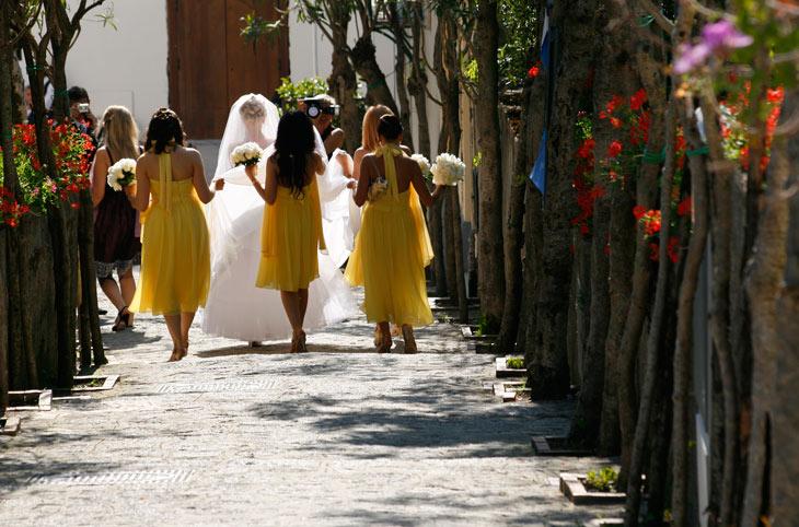 Muchas parejas eligen Ravello para casarse