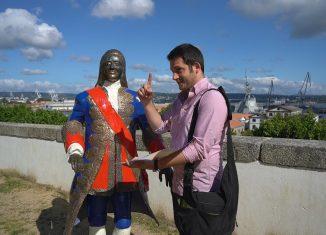 imagen Ferrol, camino inglés de Santiago…