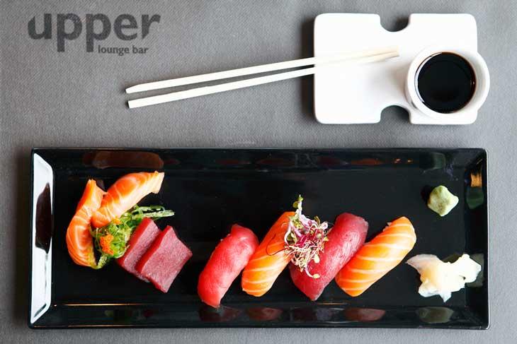 Los platos japoneses son unos de los destacados de la carta del Upper Diagonal