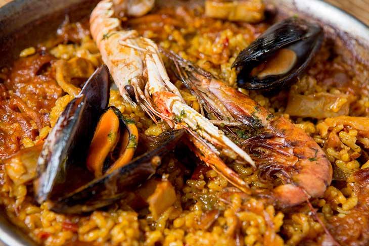 Paella de Marisco de L'Arrosseria Xàtiva
