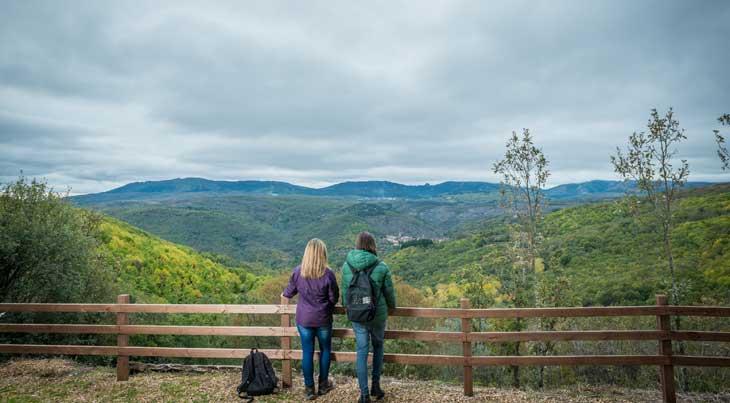 El otoño en Salamanca es un buen momento para hacer la ruta de los miradores