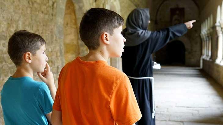 Visita teatralizada del Monasterio de Sant Cugat