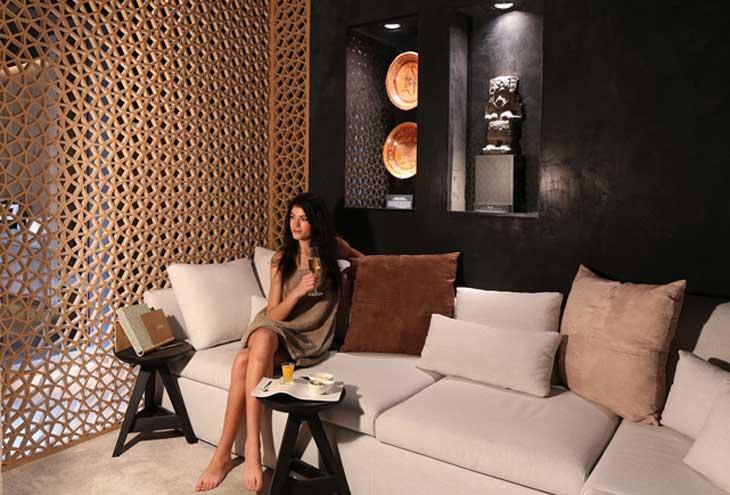 Sala de relax de Mayan Secret Spa