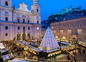 imagen Navidad en Salzburgo, ambiente idílico…