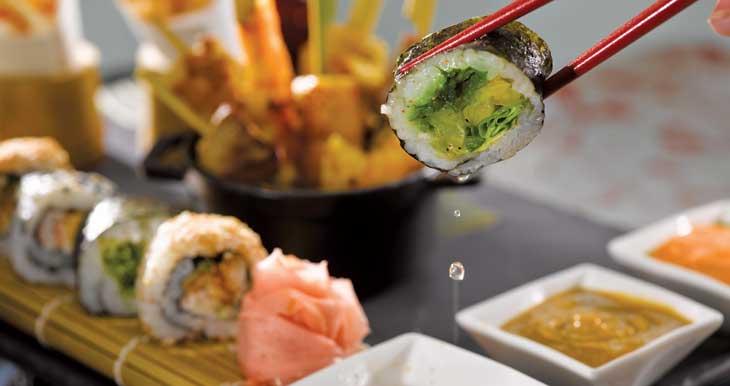 El toque oriental en Oceania Cruises está en el restaurante Red Ginger