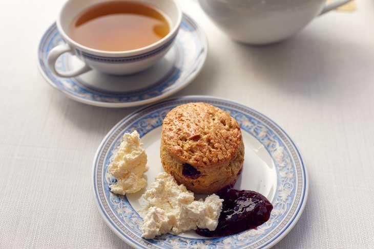 Hora del té en Oceania Cruises