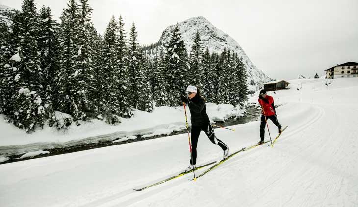 Esquí de fondo en Arlberg