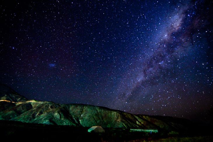 Vía Láctea desde Putre © Ronny Belmar