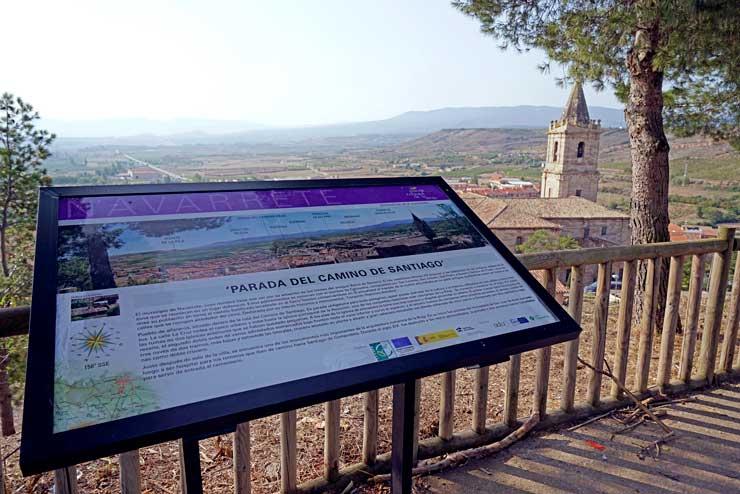 Navarrete es la segunda etapa del Camino de Santiago por La Rioja