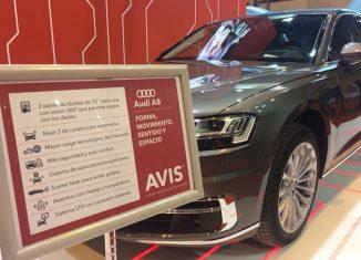 imagen Avis España incorpora el Audi…