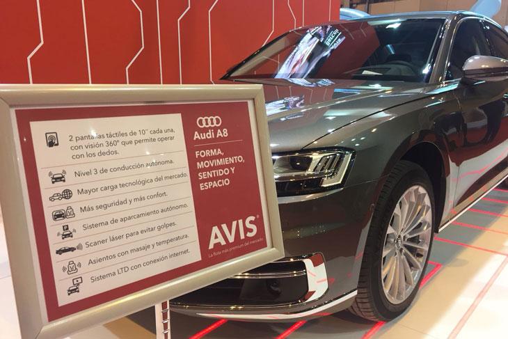 Avis España incorpora el nuevo Audi A8
