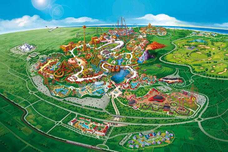 PortAventura World inaugura en 2018 un área infantil en Ferrari Land