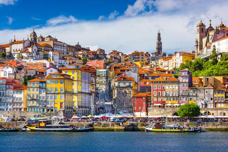 Oporto, una de las ciudades más destacadas de la región de Porto e Norte de Portugal
