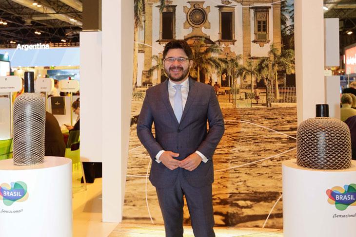 Gilson Lira, director de mercado internacional de Embratur