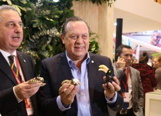 El ministro de turismo de Argentina, Gustavo Santos, estuvo presente en Fitur 2018