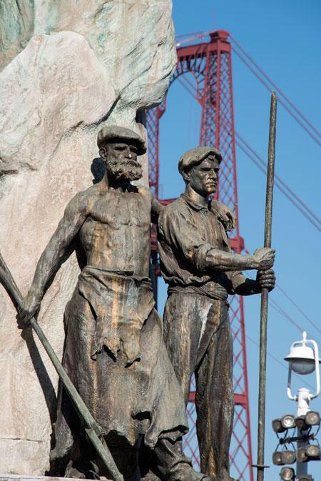Esculturas Puente Bizkaia