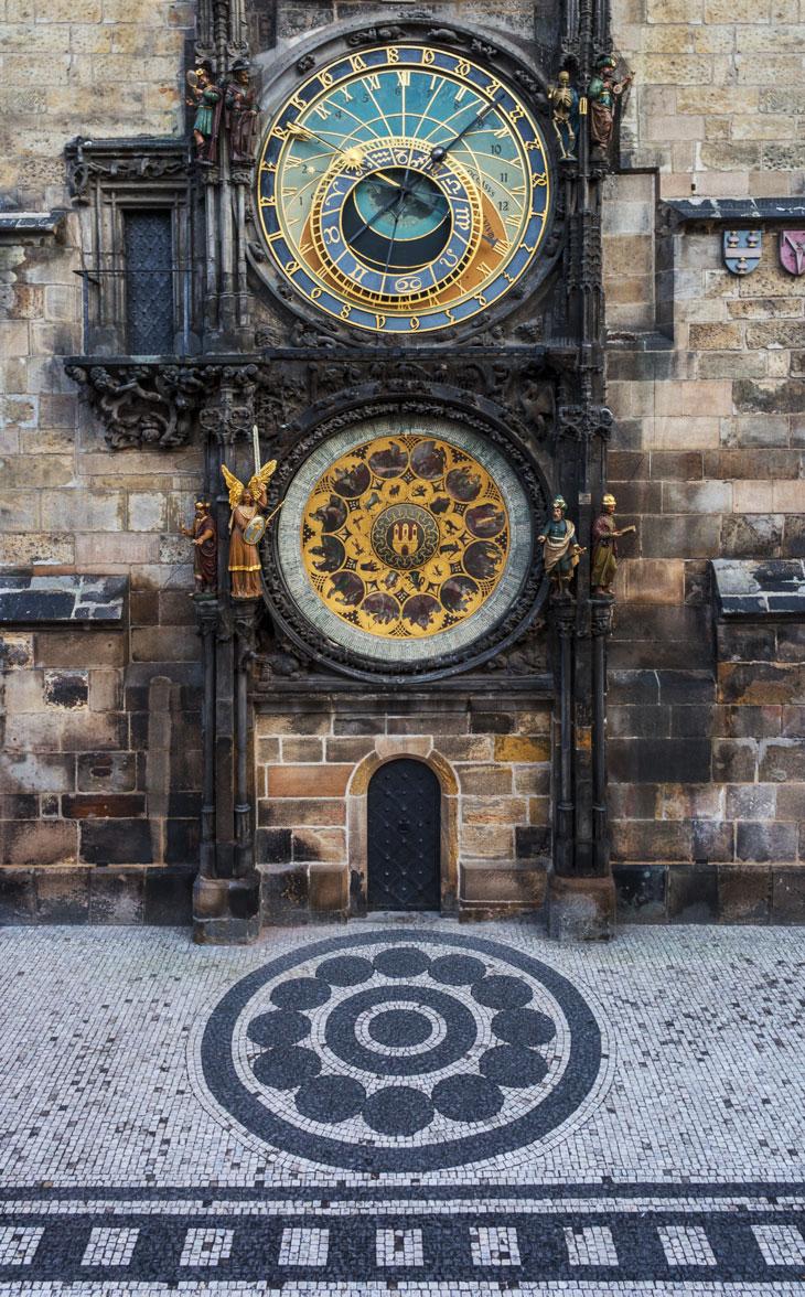 Reloj astronómico @Michal Vitasek