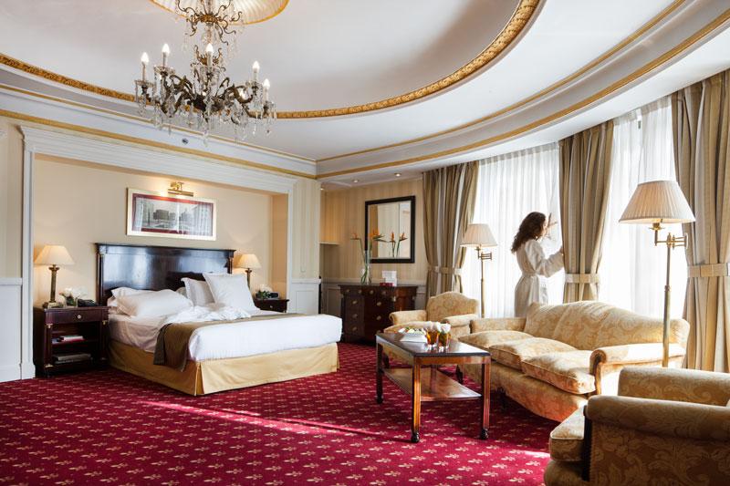 Corner Junior Suite del Hotel Emperador