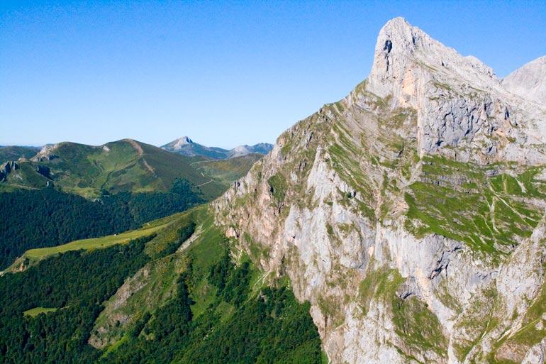 Panorámica de los Picos de Europa